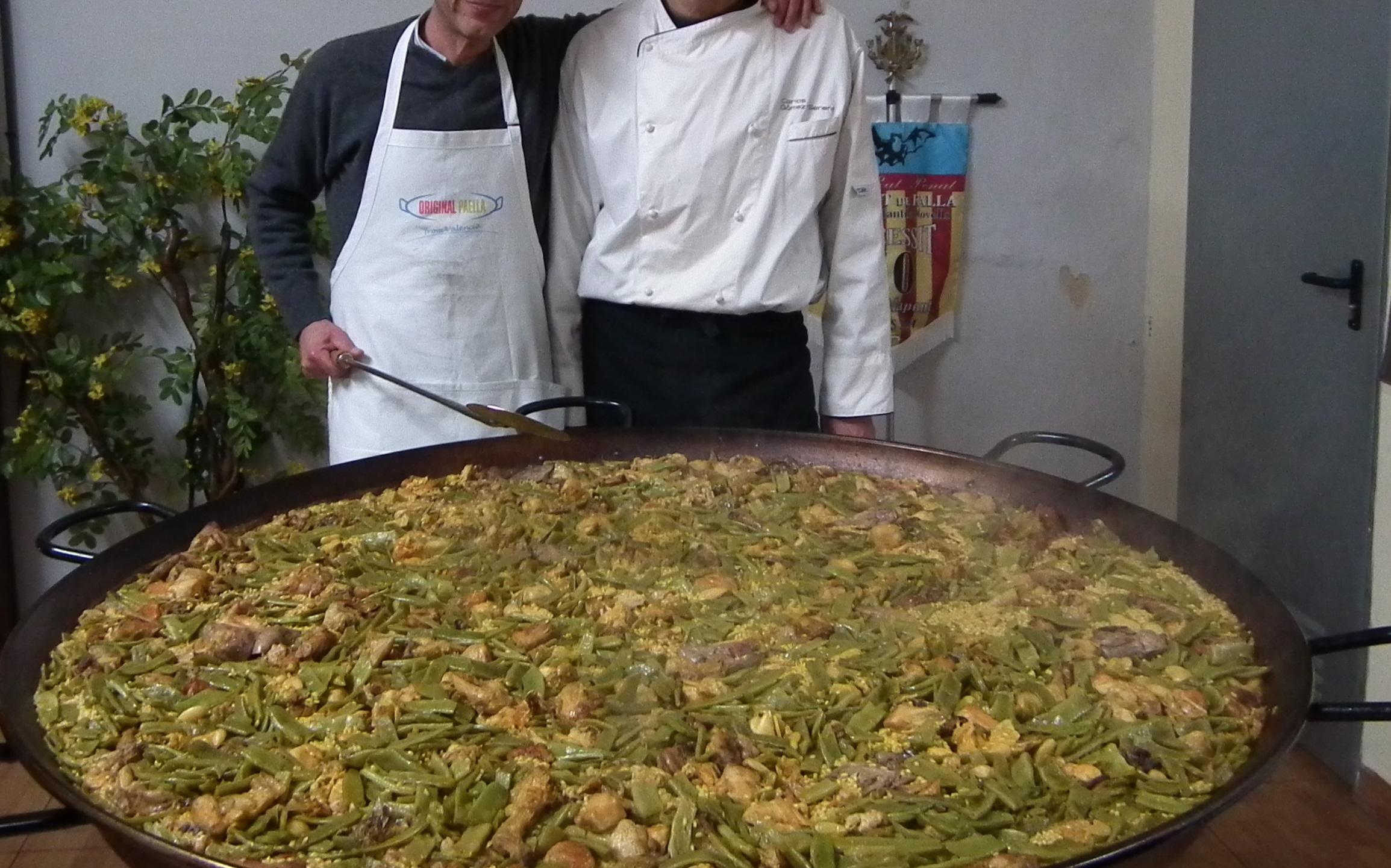 paella valenciana de 200 personas de Carlos gomez senent